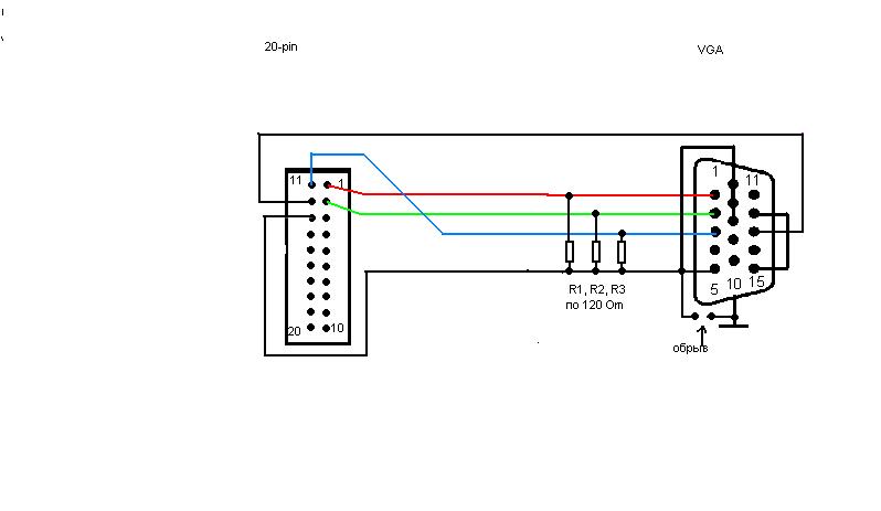15 pin vga wiring diagram get free image about wiring diagram
